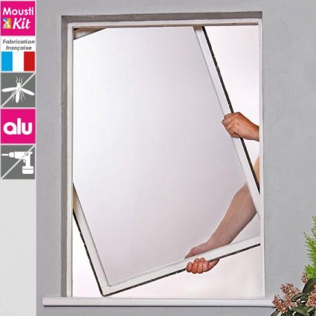 amazing cadre fixe moustikit confort sans trou ni vis with. Black Bedroom Furniture Sets. Home Design Ideas