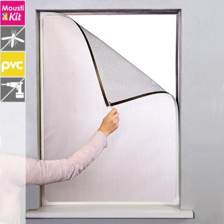 moustiquaire sur cadre magn tique fixation sans trou ni vis. Black Bedroom Furniture Sets. Home Design Ideas