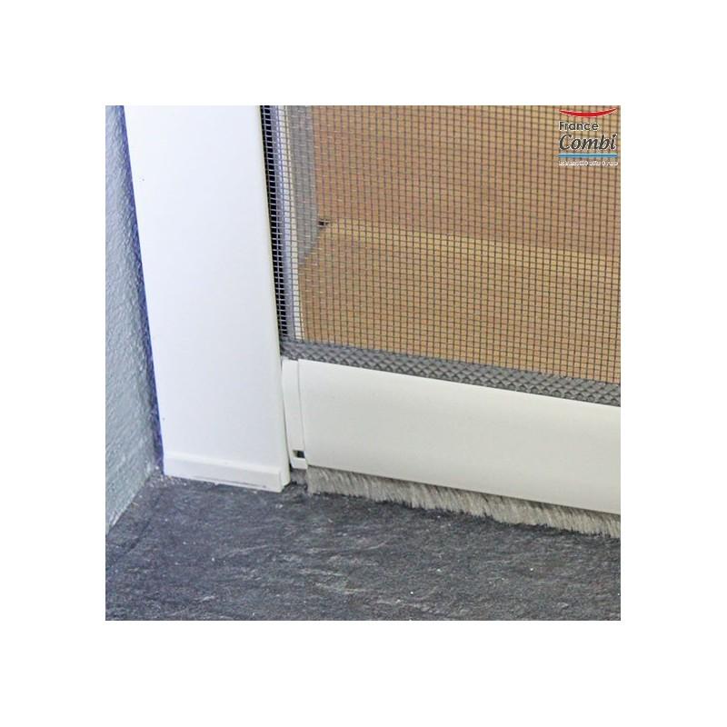 Store moustiquaire recoupable moustikit en aluminium pour for Fenetre fibre de verre