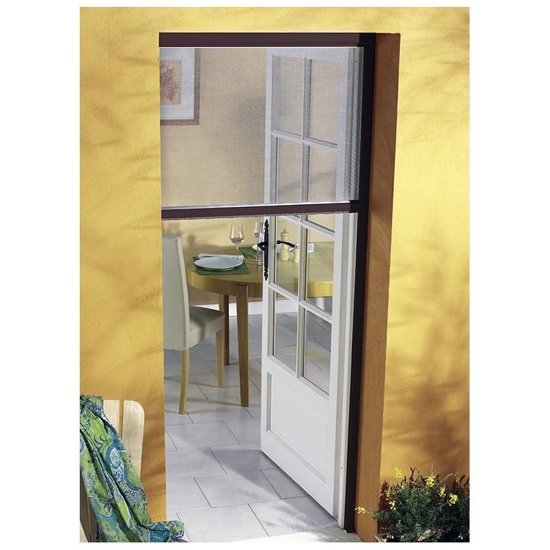 prix malin pour cette moustiquaire enroulable alu pour porte. Black Bedroom Furniture Sets. Home Design Ideas