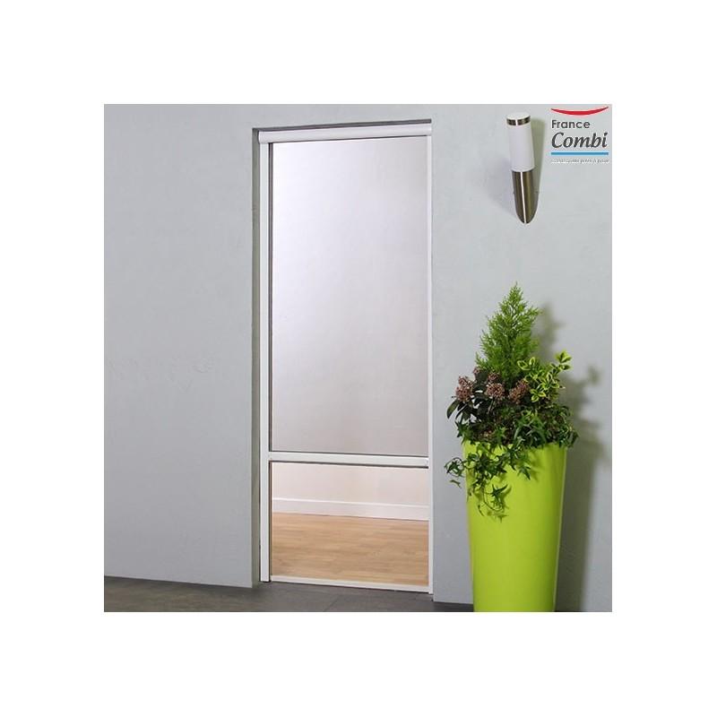Store moustiquaire recoupable moustikit en aluminium pour porte - Store pour porte fenetre ...
