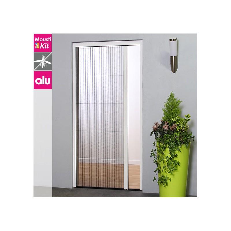 moustiquaire pliss e recoupable pour porte et baie vitr e. Black Bedroom Furniture Sets. Home Design Ideas