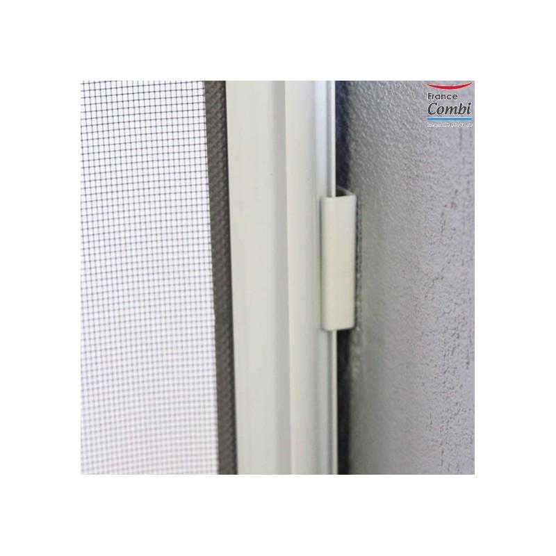 Moustiquaire enroulable sur mesure moustikit pour baie vitr e for Largeur standard baie vitree