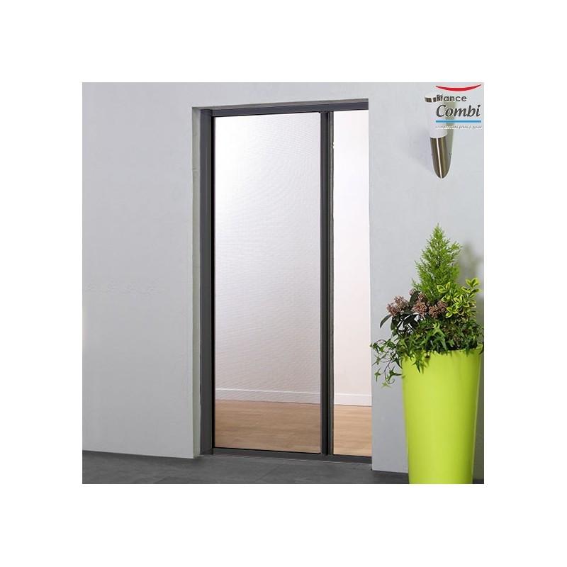 Moustiquaire enroulable sur mesure moustikit pour baie vitr e - Moustiquaire pour porte fenetre a enroulement lateral ...