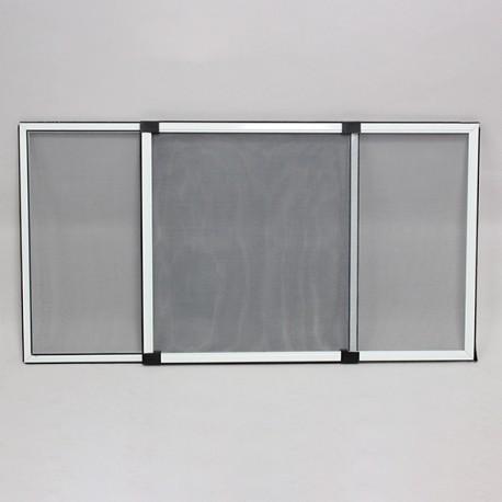 Moustiquaire Cadre Extensible Fenêtre H50 cm x L70 cm Blanc. Nouveau chez Moustikit.com