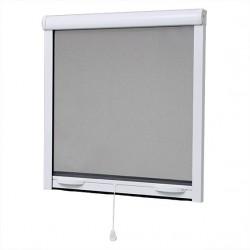 Store Moustiquaire aluminium, fenêtre, H 145 x L 125 cm