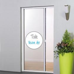 Moustiquaire VISION AIR enroulable latérale pour porte et baie vitrée MOUSTIKIT PREMIUM