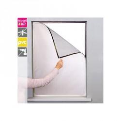 Moustiquaire cadre magnétique PVC H130 cm x L150 cm Moustikit