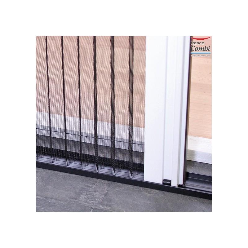 moustiquaire pliss e sur mesure pour baie vitr e. Black Bedroom Furniture Sets. Home Design Ideas
