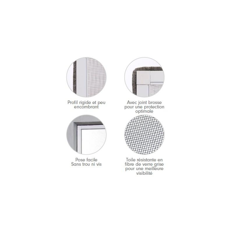 cadre fixe sur mesure excellent porte intrieure acier vitre sur mesure with cadre fixe sur. Black Bedroom Furniture Sets. Home Design Ideas