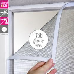 Moustiquaire auto-agrippante, toile en fibre de verre