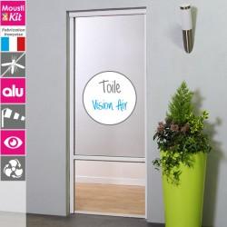 Moustiquaire enroulable alu porte fenêtre avec toile VISION AIR
