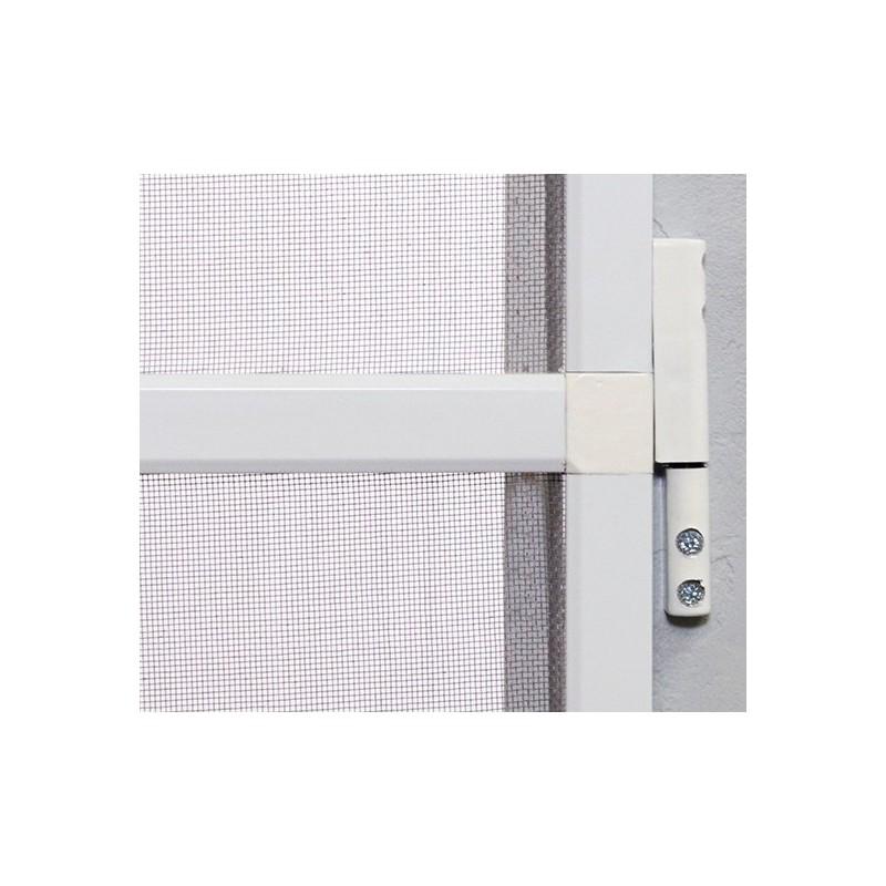 moustiquaire porte battante recoupable moustikit en aluminium. Black Bedroom Furniture Sets. Home Design Ideas