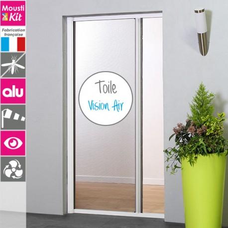 Store Moustiquaire enroulement latéral en alu avec toile VISION AIR pour porte et baie vitrée