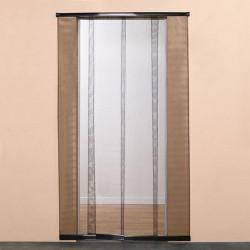 Moustiquaire de porte à bandes verticales H220 cm x L95 cm